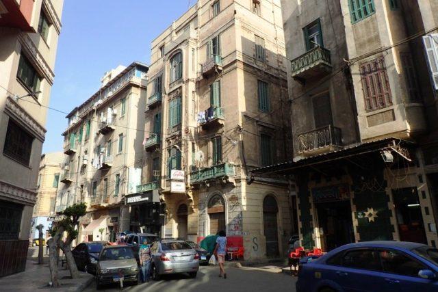Stará zástavba v Alexandrii   foto: Štěpán Macháček,  Český rozhlas