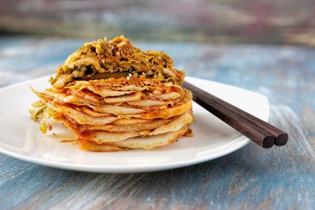Korejské kimchi