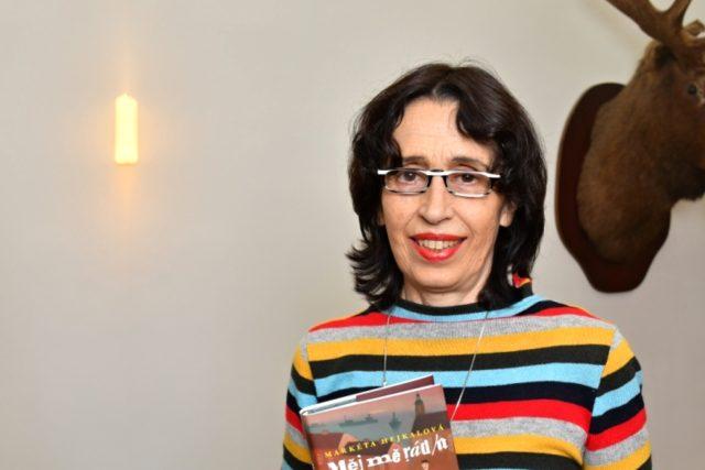 Spisovatelka Markéta Hejkalová