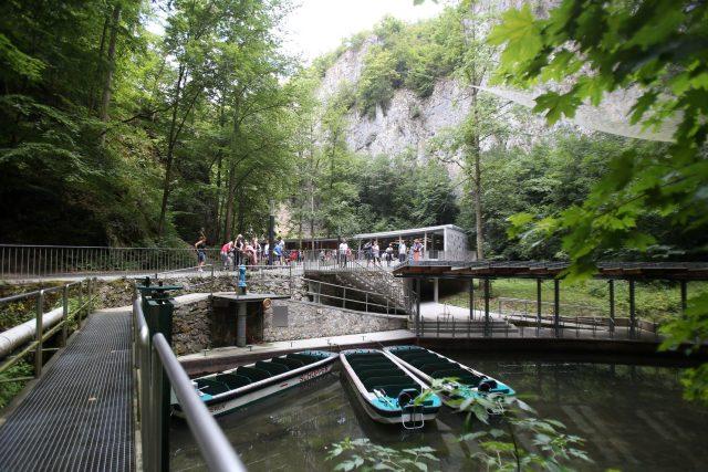Punkevní jeskyně v Moravském krasu