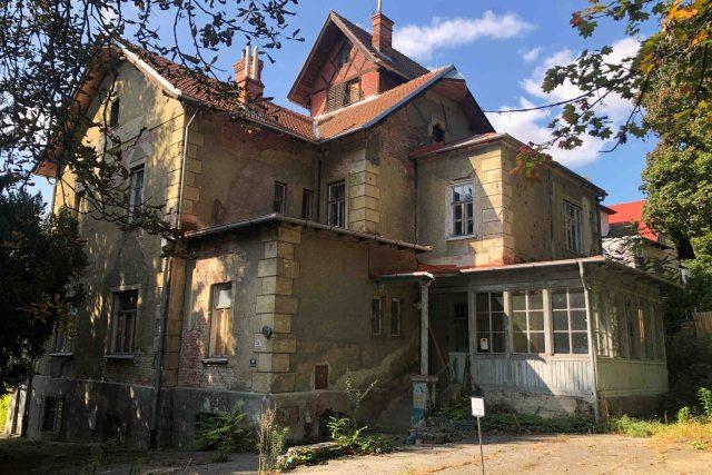 Arnoldova vila je na seznamu nejohroženějších památek Národního památkového ústavu