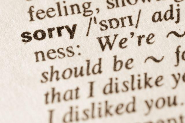 Anglické slovíčko sorry se v české konverzaci objevuje mezi mladými poměrně často