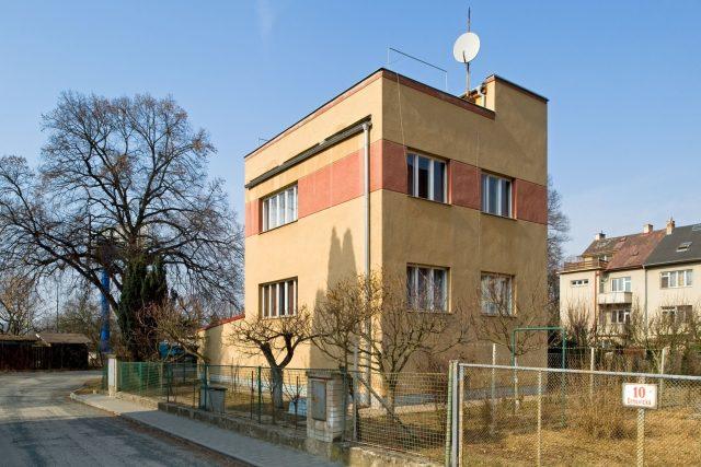 Rodinný dům v brněnské kolonii Nový dům, architekt Jaroslav Syřiště