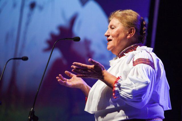 Vlasta Grycová na snímku z roku 2014   foto: Josef Omelka,  ČTK