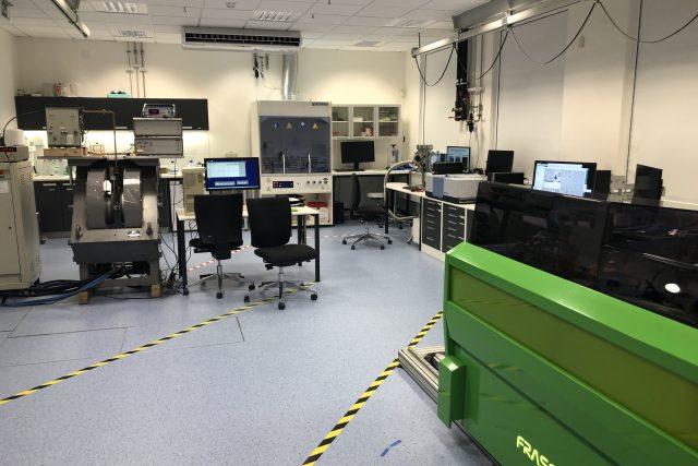 Nově otevřená laboratoř ve výzkumném centru CEITEC
