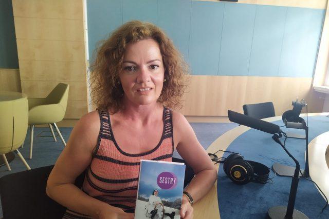 Kamila Hladká,  autorka knihy Sestry | foto: Jarka Vykoupilová,  Český rozhlas Brno