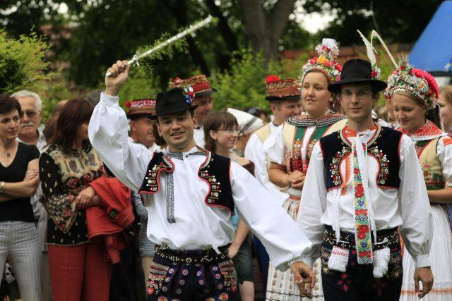 Horňácké slavnosti  (ilustrační foto) | foto: Radek Miča / MAFRA / Profimedia,  Profimedia