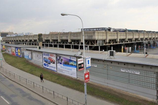 Ústřední autobusové nádraží Zvonařka a okolní areál