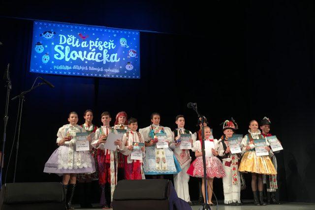 Děti a píseň Slovácka se uskutečnila ve Veselí nad Moravou | foto: Karolína Peřestá,  Český rozhlas