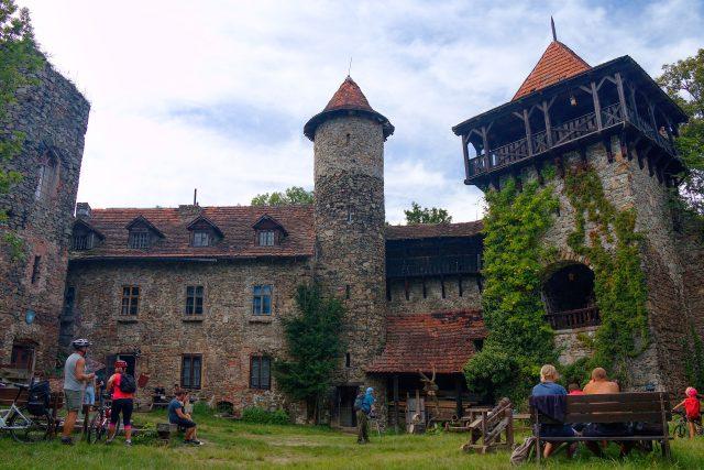 Nový hrad u Blanska je neobyčejná zřícenina