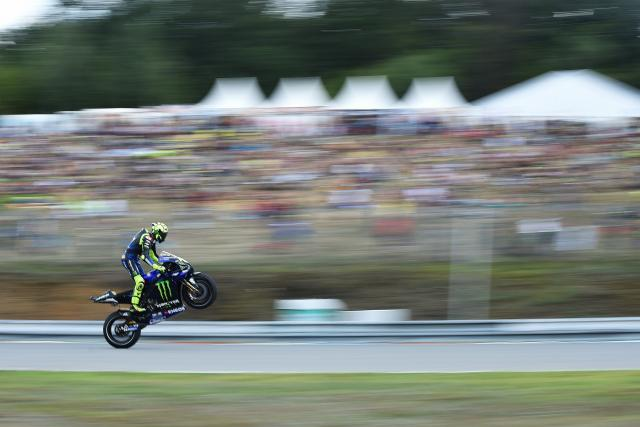 Motocyklová Grand prix na Masarykově okruhu