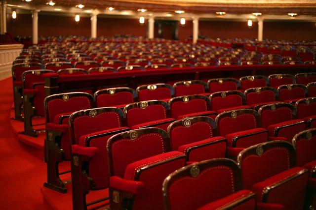 Prázdné divadelní hlediště (ilustrační foto)