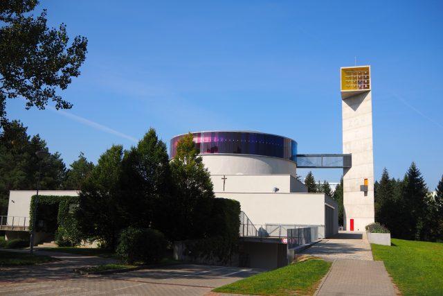 Kostel blahoslavené Marie Restituty v brněnském sídlišti Lesná | foto: Ludmila Opltová,  Český rozhlas