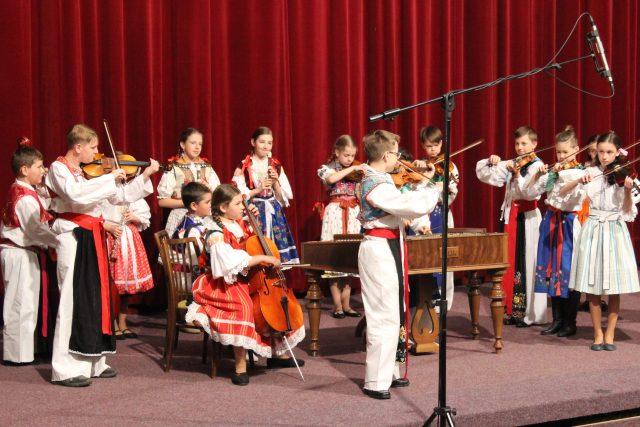 Cimbálová muzika ZUŠ Veselí nad Moravou