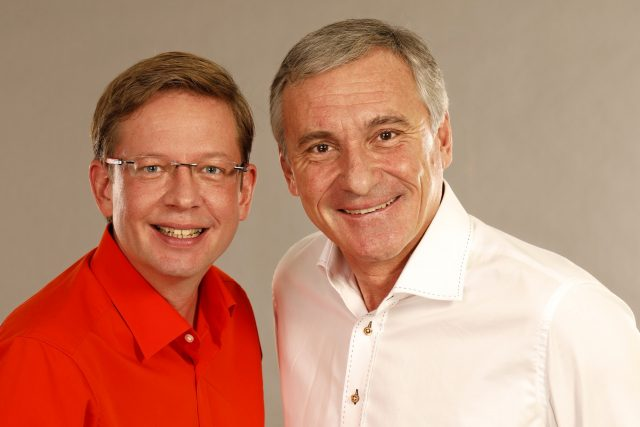 Aleš Cibulka a Jan Čenský | foto: Khalil Baalbaki,  Český rozhlas,  Český rozhlas