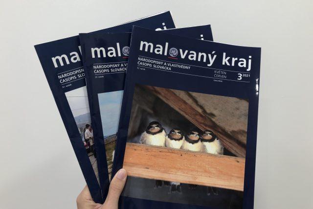 časopis Malovaný kraj   foto: Ludmila Opltová,  Český rozhlas