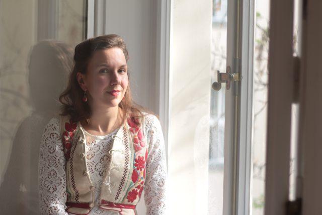 Anežka Heinzlová | foto: Ludmila Opltová,  Český rozhlas