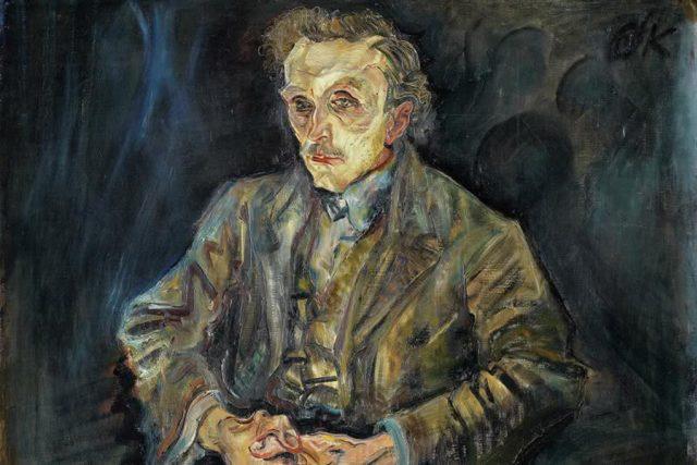Oskar Kokoschka, Adolf Loos, 1909