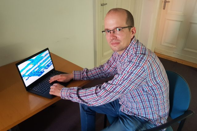 Vedoucí výzkumu Tomáš Apeltauer z Fakulty stavební VUT   foto: Ivana Chatrná,  Český rozhlas