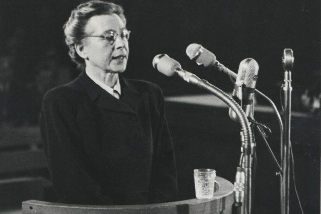 Milada Horáková během procesu