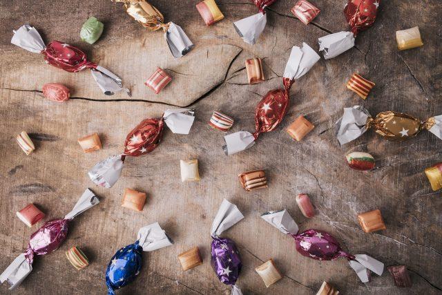 Bonbony,  karamelky | foto: Fotobanka Pixabay