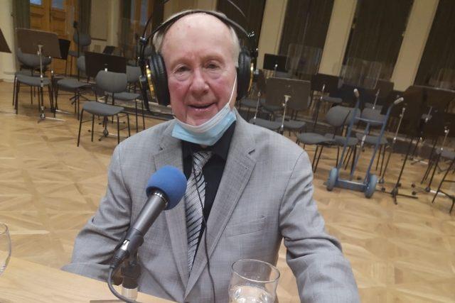 Jan Slabák slaví osmdesátiny | foto: Jarka Vykoupilová,  Český rozhlas