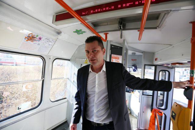 Miloš Havránek, ředitel Dopravního podniku města Brna