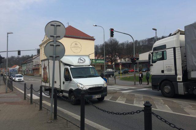 Dopravní situace v Bučovicích
