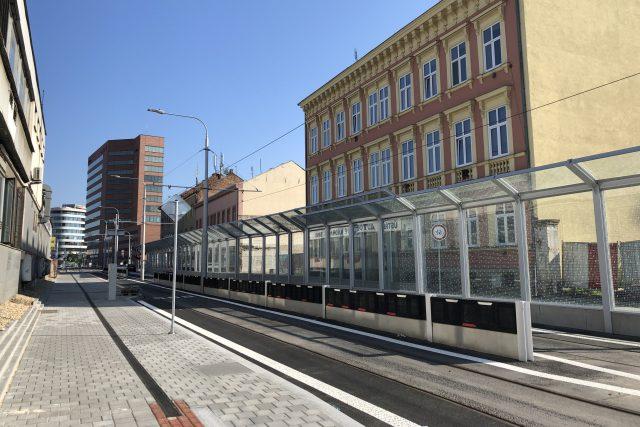 Plotní projedou po třech letech první tramvaje | foto: Ludmila Opltová,  Český rozhlas
