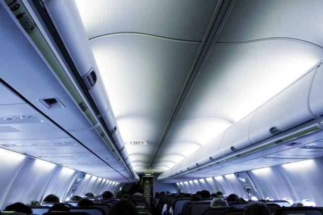 Kabina dopravního letadla