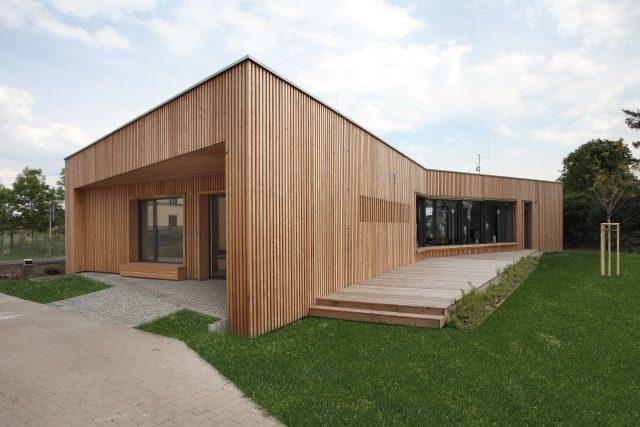 dřevostavba,  realizace architekta Pavla Horáka | foto: Alžběta Schmidová