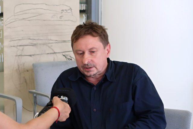 Kurátor Pavel Petr | foto: Petr Veselý