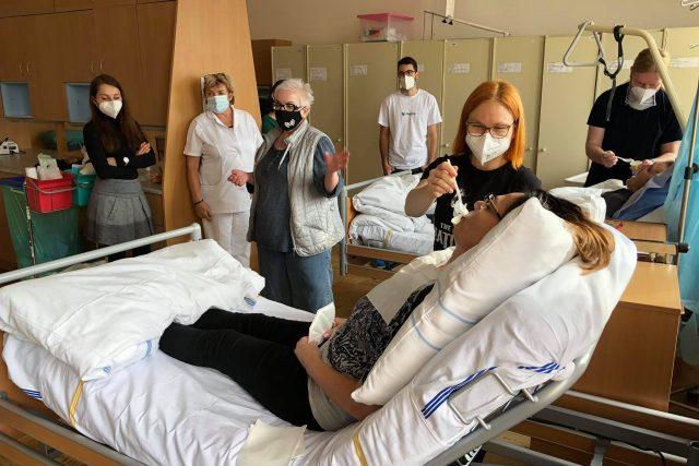 Český červený kříž školí v Brně dobrovolníky