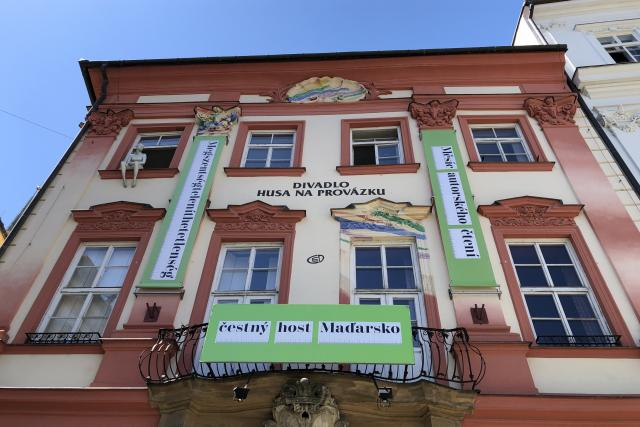 Měsíc autorského čtení se uskuteční v divadle Husa na provázku | foto: Ludmila Opltová,  Český rozhlas