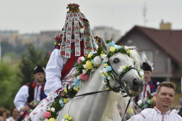 Jízda králů v Kunovicích 2021   foto: Dalibor Glück,  ČTK