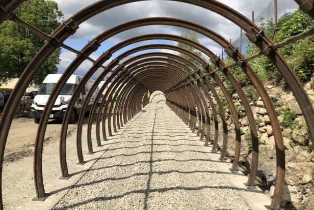 Replika uhelné štoly ve Zbýšově bude měřit téměř 60 metrů