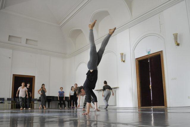 Brněnská část festivalu ProArt,  který tvoří kurzy a workshopy tance,  herectví,  zpěvu a dalších uměleckých dovedností | foto: Igor Zehl,  ČTK