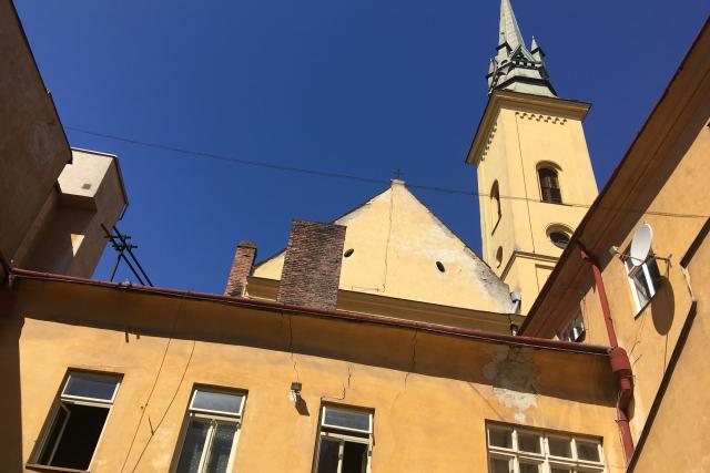 Kostel sv. Máří Magdalény v centru Brna na Masarykově ulici