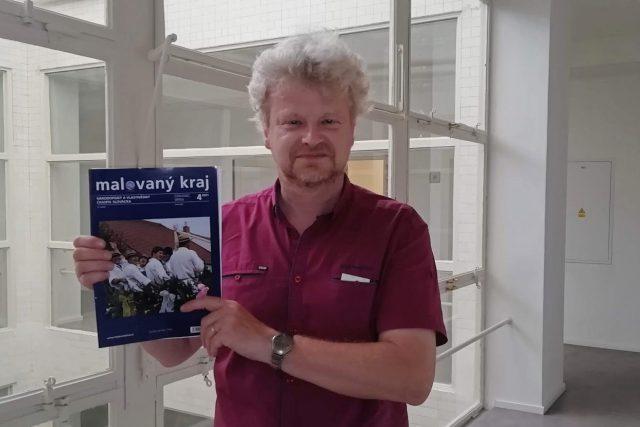 Vojtěch Urbančík,  redaktor časopisu Malovaný kraj | foto: Jaroslav Kneisl,  Český rozhlas