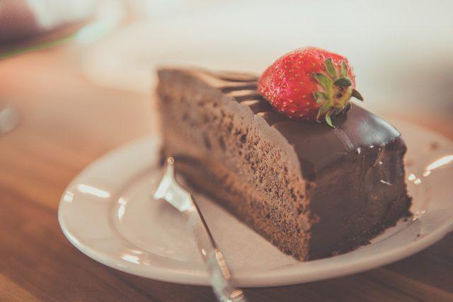 Čokoládový dort (ilustrační foto)