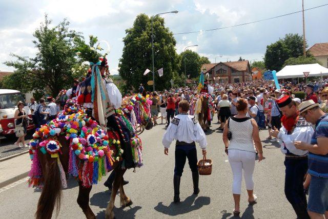 Tradiční Jízda králů ve Vlčnově   foto: Michael Rozsypal,  Český rozhlas